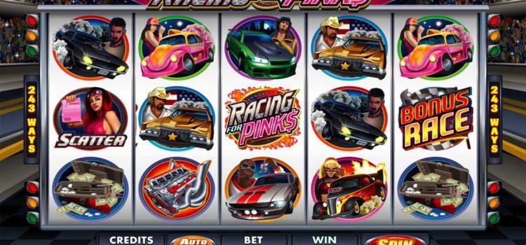 Bonus : machines à sous autour des courses d'automobiles